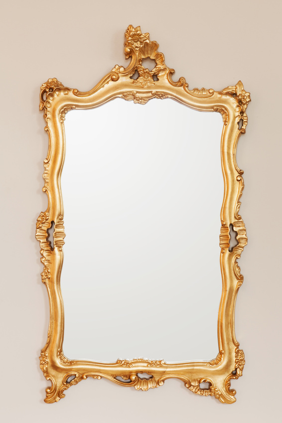 take a look at yourself in the mirror